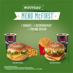 LE MENU Mc FIRST