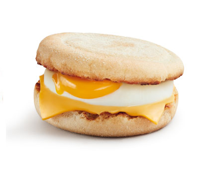 LE McMUFFI EGG & CHEESE